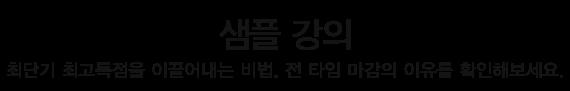 토플인강 샘플강의